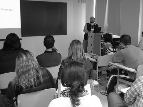 Cursos e workshops em 2012